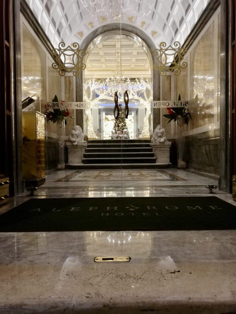 lucidatura marmo hotel